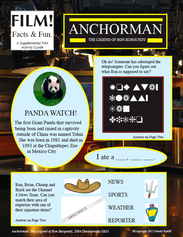 Film! Facts & Fun: Anchorman